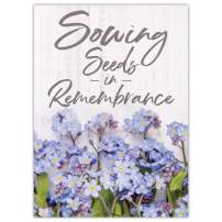 Seed Needs, Set of 20 Forget-Me-Not Seed Packet Favors (Packets are Already Filled) Great for Memorials, Funerals, Special Events or Baby Showers
