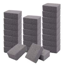 Yesland 24 Pack Grill Stone, Pumice Stones Tool & Odorless Grilling Cleaning Brick, De-Scaling BBQ Block for Removing Encrusted Greases, Stains, Residues, Dirt