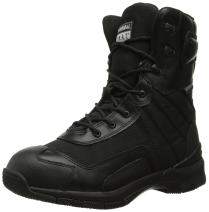 Original S.W.A.T. Men's H.A.W.K. 9 Inch Side-Zip Military and Tactical Waterproof Boot, Black, 4.5 D US