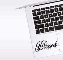 World Design Blessed Laptop Corner Decal