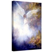 Art Wall Marina Petro The Guardian Gallery Wrapped Canvas Art, 24 by 16-Inch