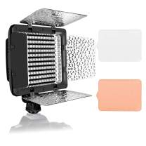 Emart Ultra Bright 176 LED Photo Video Lighting with Soft Filter, Portable Camera Photography Light Panel Dimmable for Digital Camera, Camcorder Video Light, YouTube Studio(Battery Not Included)
