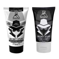 Friction Labs Secret Stuff 2-in-1 Bundle - Perform Better with The Right Chalk for Any Scenario, Humid & Dry Conditions - Liquid Chalk for Gymnastics, Rock Climbing, Lifting
