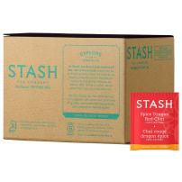 Stash Tea Spice Dragon Red Chai Herbal Tea 100 Count Box of Tea Bags in Foil (packaging may vary) Individual Red Herbal Tea Bags for Use in Teapots Mugs or Cups, Brew Hot Tea or Iced Tea