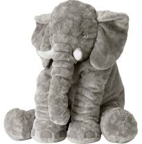 Missley Elephant Stuffed Toys-Best Home Cartoon Decoration-Cushion Soft Toys Cartoon Doll (Grey, Large)