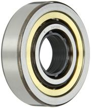 SKF QJ 206 MA Angular Contact Ball Bearing, ABEC 1 Precision, Four-Point Contact Design, Brass Cage, 35° Contact Angle, Normal Clearance, Open, Metric, 30mm Bore, 62mm OD, 16mm Width