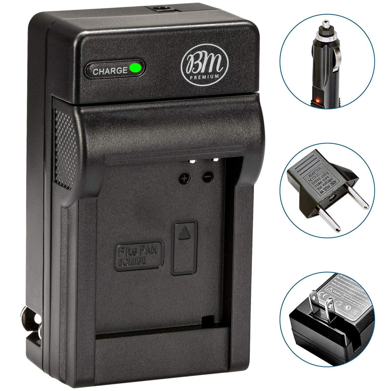 BM Premium DMW-BCM13E Battery Charger for Panasonic Lumix DC-TS7, DMC-FT5A, LZ40, TS5, TS6, TZ37, TZ40, TZ41, TZ55, DMC-TZ60, DMC-ZS27, DMC-ZS30, DMC-ZS35, DMC-ZS40, DMC-ZS45, DMC-ZS50 Digital Cameras