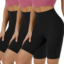 "VALANDY Biker Shorts for Women High Waisted Workout Shorts for Women Yoga Pants 8"" Soft Opaque"