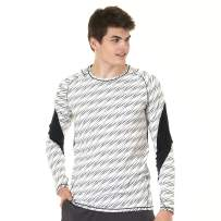Turaag Men's Long Sleeve Moisture Wicking T-Shirt for Workout, Running & Gym