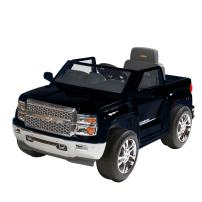 Rollplay 6 Volt Chevy Silverado Truck Ride On Toy, Battery-Powered Kid's Ride On Car - Black