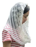 Vintage Veil Church Mantilla Lace Chapel Veil Vintage Mantilla V02