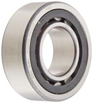 FAG NJ2205E-TVP2-C3 Cylindrical Roller Bearing, Single Row, Straight Bore, Removable Inner Ring, Flanged, High Capacity, Polyamide/Nylon Cage, C3 Clearance, Metric, 25mm ID, 52mm OD, 18mm Width