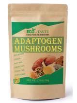 Mushroom Powder Blend Extract Supplement, 100% Pure Fruiting Body, Beta-D-Glucans 30%, 50g