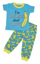 Unique Baby Unisex Bananas About Daddy 1st Father's Day Onesie Outfit