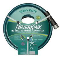 Teknor Apex NeverKink 8615-75, Heavy Duty Garden Hose, 5/8-Inch by 75-Feet