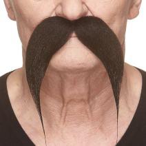 Mustaches Fake Mustache, Self Adhesive, Novelty, Kung-fu Master False Facial Hair