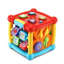 VTech Busy Learners Activity Cube, Great Gift For Kids, Toddlers, Toy for Boys and Girls, Ages Infant, 1, 2, 3