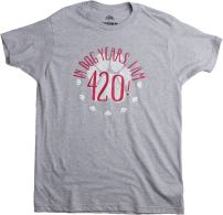in Dog Years, I'm 420! | 60th Birthday, Funny 60 Year Old Gift Unisex T-Shirt