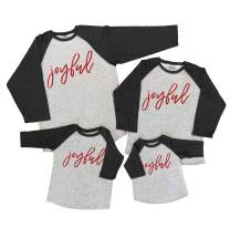 7 ate 9 Apparel Matching Family Christmas Shirts - Joyful Grey Shirt