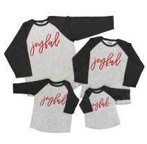 7 ate 9 Apparel Matching Family Christmas Shirts - Joyful Grey Shirt