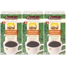 Teeccino Herbal Tea – Organic Chocolate – Roasted Chicory, Cacao, Prebiotic, Caffeine Free, Acid Free, 25 Tea Bags (Pack of 3)