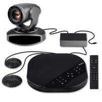 Tenveo Group Video Conferencing System All-in-One, USB PTZ Conference Room Camera with Expansion Mics (10X Zoom TEVO-VA3000E)