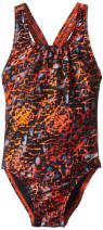 Speedo Big Girls' Shatter Skin Youth Superpro Swimsuit