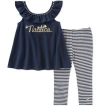 Nautica Baby Girls' Leggings Set