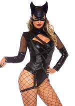 Leg Avenue Women's Villainess Vixen Sexy Cat Woman Costume