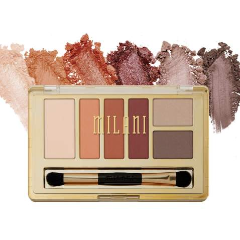 Milani Everyday Eyes Eyeshadow Palette - Modern Mattes (0.21 Ounce) 6 Cruelty-Free Matte or Metallic Eyeshadow Colors to Contour & Highlight