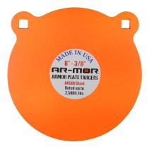 """AR-MOR Targets 3/8"""" Thick Round AR-500 Gong"""