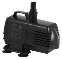 EcoPlus 728320 NGW 1056 FixedFlow Sub/Inline Pump 1083GPH, 1083 GPH, Black