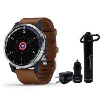 Garmin Legacy Hero Series Special Edition Smartwatch with Included Wearable4U Power Pack Bundle (First Avenger 45mm)
