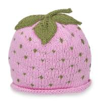 Beanie Designs Ruby Red Strawberry Shortcake Perfection - Organic Cotton