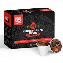 German Chocolate Cake Single Coffee Cup, (Regular) 100% Recyclable Single Serve Flavored K-Cup, 100% Arabica, No Sugar, No Fats, Non-GMO, 18 Cups of Regular Coffee Per Box – Christopher Bean