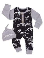 Newborn Baby Boy Clothes Infant Girl Fox Bear Hoodie Romper Fall Winter Bodysuits