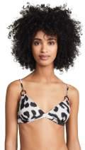 MIKOH Women's Ponzu Bikini Top