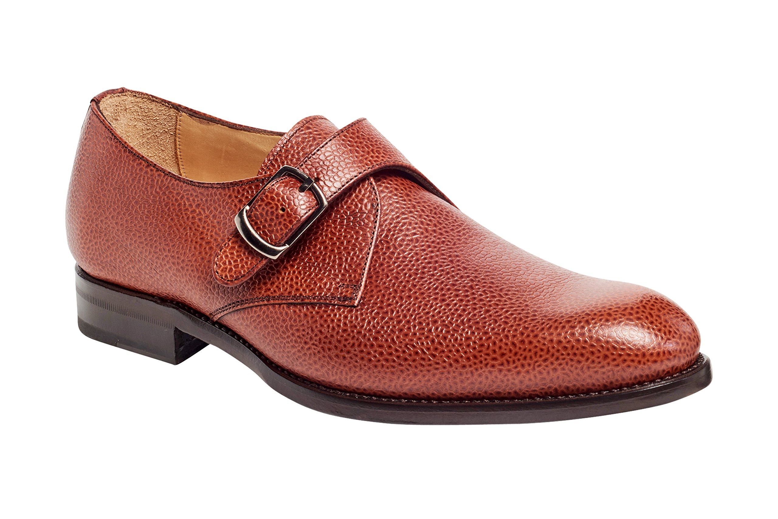 Anthony Veer Men's CALI Monk Strap Dress Shoe in Premium Italian Leather Goodyear Welted