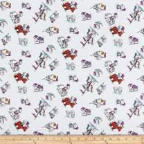 Riley Blake Designs Riley Blake Dragons Knights White Multi, Fabric by the Yard