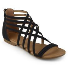 Journee Collection Womens Flat Gladiator Sandals