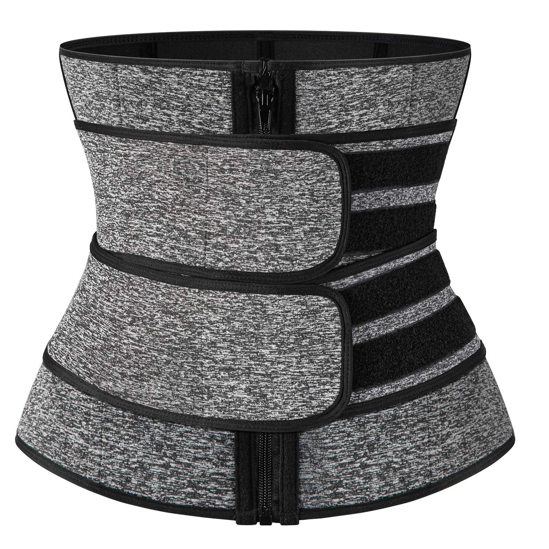 SLIMBELLE Neoprene Waist Trainer Corset Trimmer Belt for Women Weight Loss Sports Workout Waist Cincer