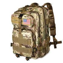 NOOLA Military Tactical Backpack Large Army 3 Day Assault Pack Molle Bag Rucksack