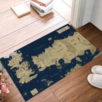 """CHARMHOME Custom Game of Thrones Doormat Door Welcome Matcover Rug Outdoor Indoor Floor Mats Non-Slip Machine Washable Decor Bathroom Mats 23.6"""" x 15.7"""""""