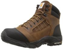"Carhartt CMH6076 Men's 6"" Waterproof Breathable Lightweight Leather Non-Safety Toe Work Hiker Boot"