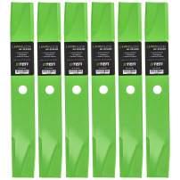 8TEN LawnRAZOR Hi Lift Blade for Dixon Lesco ZTR 421 13938 539129683 539129700 539126275 42 Inch Deck 6 Pack