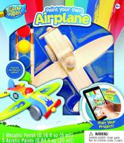 MasterPieces Works of Ahhh Airplane Real Wood Paint Kit