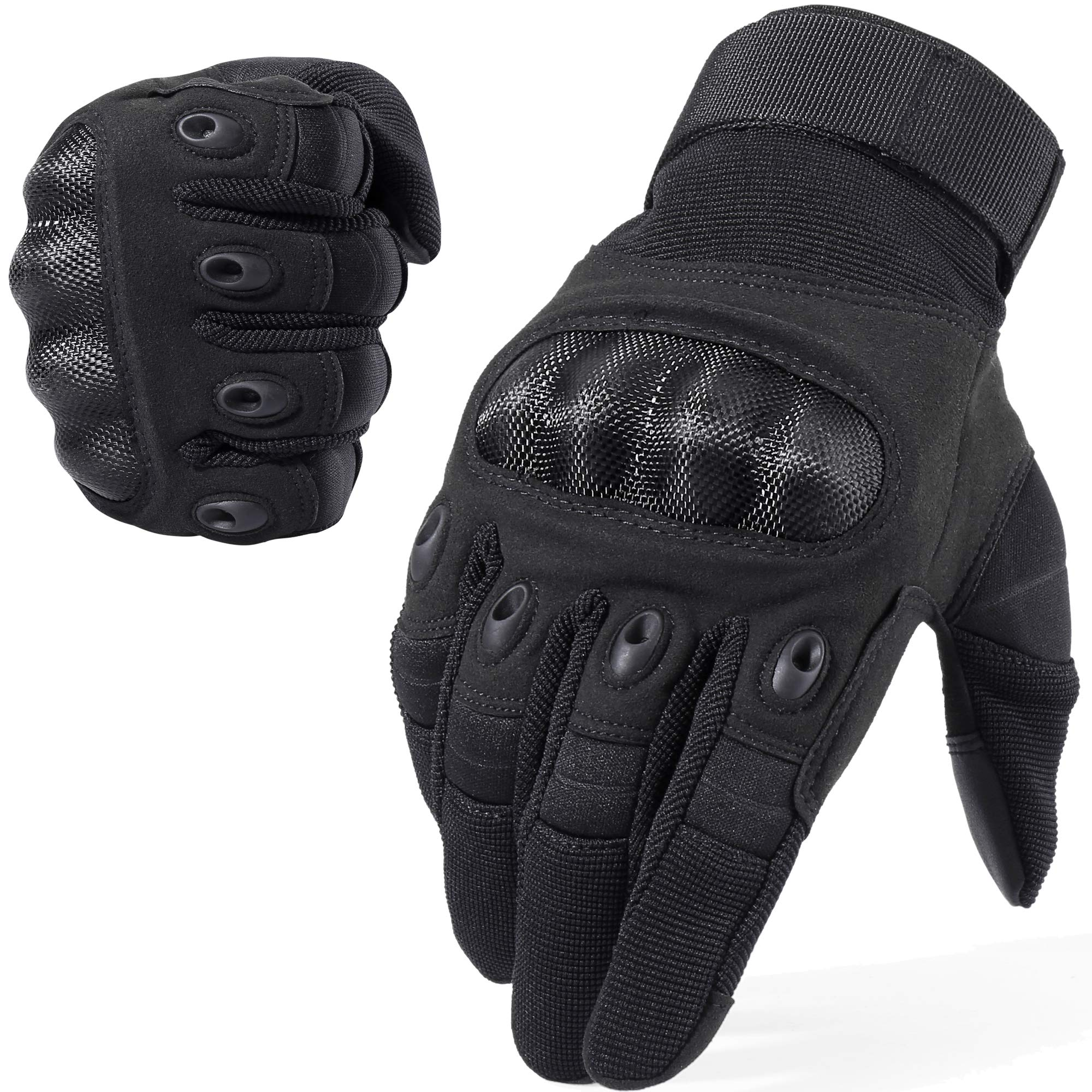 WTACTFUL Touch Screen Motorcycle Full Finger Gloves for Cycling Motorbike ATV Hunting Hiking Riding Climbing Operating Work Sports Gloves