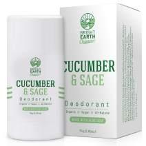 All Natural Organic Deodorant - Cucumber Sage with Magnesium and Aloe - Aluminum Free, Baking Soda Free, Alcohol Free, Vegan, Non Toxic, for Women, Men & Kids - 2.65 oz