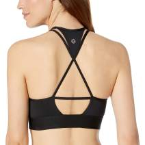 Amazon Brand - Core 10 Women's (XS-3X) 'All Around' Sports Bra - Featuring Strappy, Cross-Back, T-Back Designs