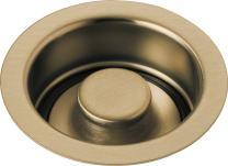 Delta Faucet 72030-CZ Disposal and Flange Stopper, Kitchen, Champagne Bronze